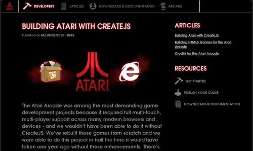 BUILDING ATARI WITH CREATEJS