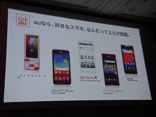 5機種を発表