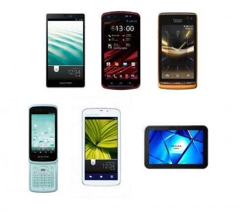 【au2012年夏モデル】Android 4.0 スマートフォン5機種と10.1インチ『REGZA Tablet』を発表