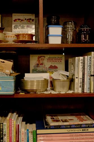 料理本の棚