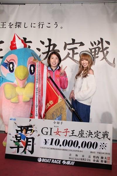【BOATRAEC女子】女子王座決定戦を2連覇! 田口節子選手にインタビュー
