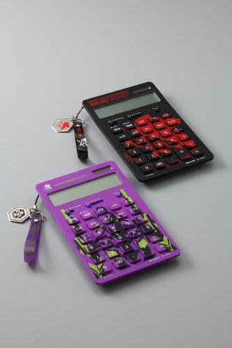 ナイスサイズ電卓 エヴァンゲリオン(EL-EVA1)(EL-EVA2)