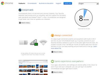 Chrome OS について