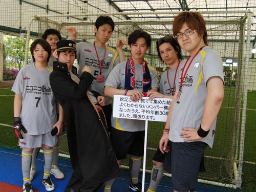 蛇足さん率いるチームにはやまだんさん、湯毛さんも参加。