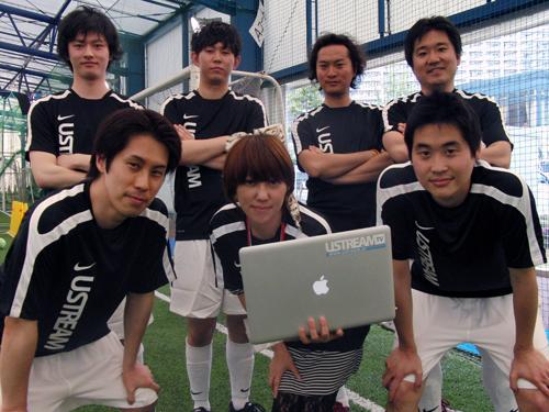 Ustreamチーム
