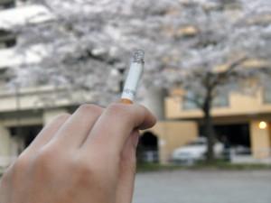 タバコはおいしゅうございます。