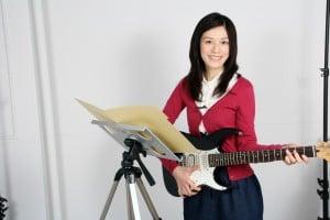 カメラ三脚用ノートPCデスク(譜面台使用例)