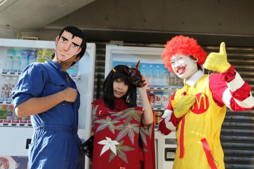 淡い人さん、麻白あやきさん、キョモさん/阿部高和、日本鬼子、ドナルド・マクドナルド