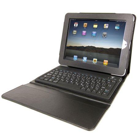 無線式キーボード内蔵iPad革ケース