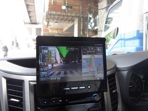 車載カメラにナビ情報を重ねて表示する『ARスカウターモード』