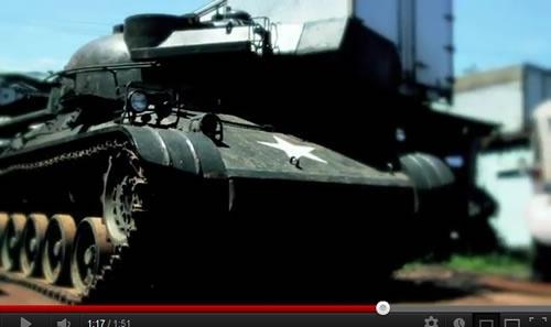 1000社>センシャ>戦車!? サイボウズが六本木ヒルズに戦車を出撃させるらしいぞ