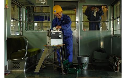 GABOMI写真展「ことでん 仏生山工場」