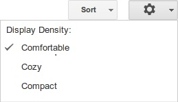 GoogleDocs リスト表示変更