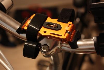 自転車用デジカメスタンド