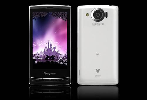 ディズニー・モバイルのAndroid 2.2スマートフォン『DM009SH』は2月18日発売へ