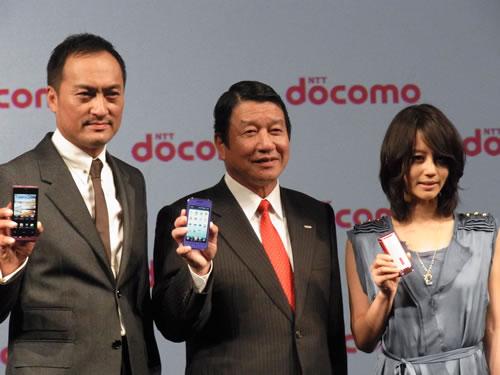 ドコモの2010~2011年冬春モデル発表 Androidスマートフォンは『LYNX 3D SH-03C』『REGZA Phone T-01C』『Optimus chat L-04C』の3機種