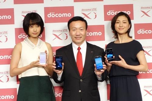 【ドコモ2012年冬モデル】全モデル100MbpsのLTEに対応 Android 4.1を含むスマートフォン9機種+タブレットがお披露目された発表会レポート