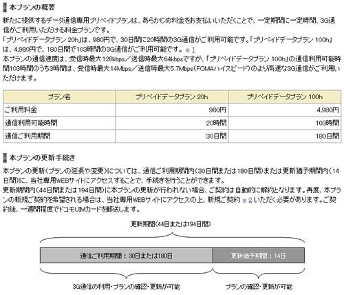 『PlayStation Vita』から適用 ドコモがプリペイドのデータ通信プランを12月17日開始へ
