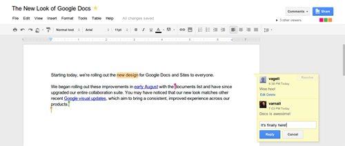 GoogleDosデザインリニューアル