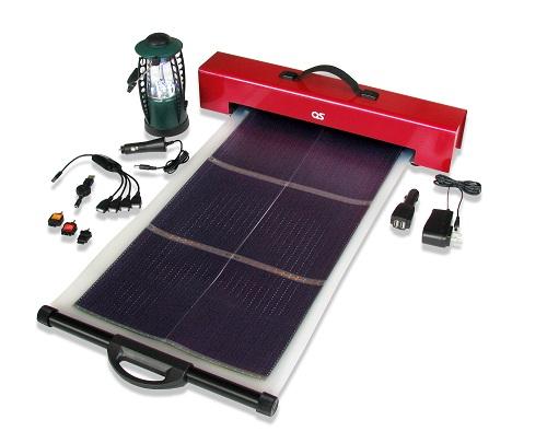 太陽光発電機『どこでも発電』