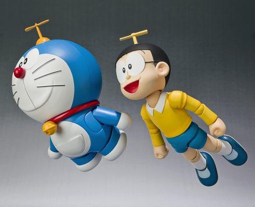 """哆啦a梦h_""""ひみつ道具""""で遊べるフィギュア! 『ROBOT魂 ドラえもん』『S ..."""