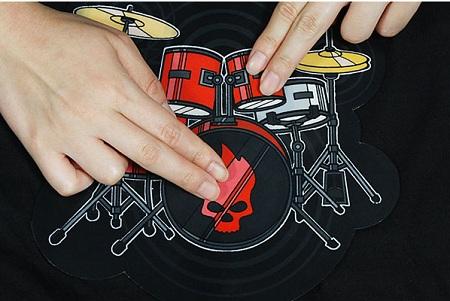 ドラムキットシャツ (Electronic Drum Kit Shirt)