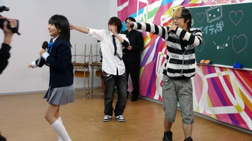 石田さんと3人で踊る