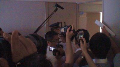 沢山のメディアが取材に訪れた