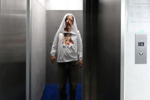 エレベーターであう