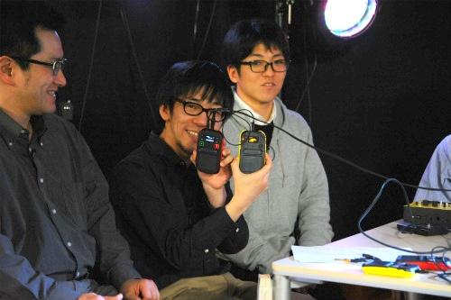 KORG坂巻さんと斉田さん