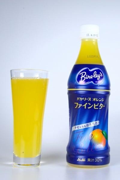 バヤリース オレンジ ファインビター