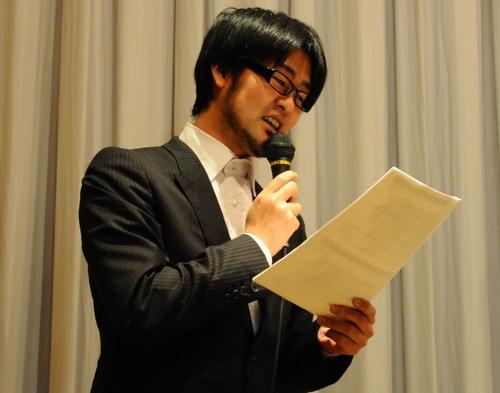 司会の鷲崎健さん
