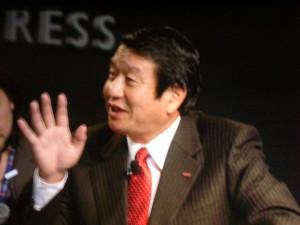 ドコモ山田社長