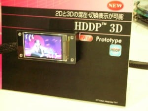 NEC LCD HDDP 3D For Mobile