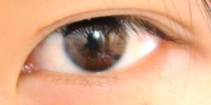 一番きれいにできた目