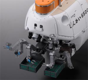 『1/48 有人潜水調査船しんかい 6500』 動くマニピュレータ