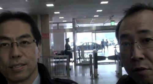 古賀さんと弱腰記者