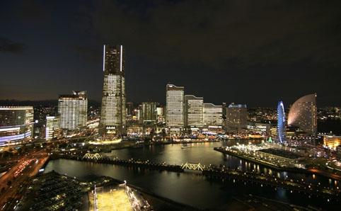 TOWERS Milight ~みなとみらい21 オフィス全館ライトアップ
