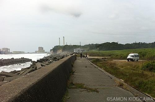 警戒区域解除の初日に福島県警のおまわりさんと立ち話した