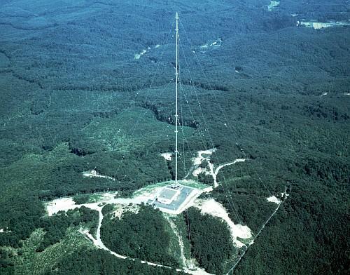 福島の標準電波送信所