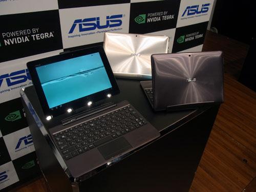 ASUSとNVIDIAがクアッドコアCPU『Tegra 3』搭載の10.1型Androidタブレット『Eee Pad TF201』を発表 明日発売へ