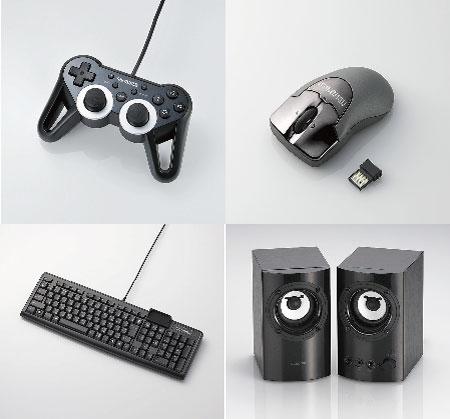『FF14』推奨モデルのUSBゲームパッド、ワイヤレスマウス、キーボード、マルチメディアスピーカー