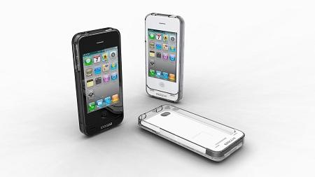 iPhone 4対応バッテリージャケット『exolife』