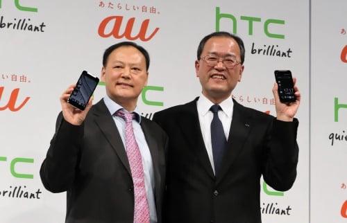 HTCピーター・チョウ氏、KDDI田中氏