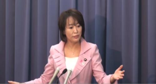 消費者庁 森大臣 定例記者会見「少子化という問題が国家の危機である」(2013年4月5日)