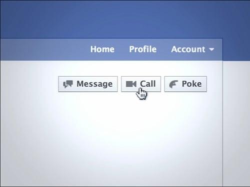 Facebook ビデオ電話
