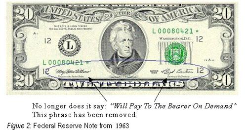 金ドル本位制で紙幣と交換が保証されていたものは?