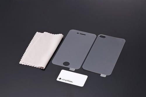 iPhone 4用保護フィルムセット(アンチグレア)