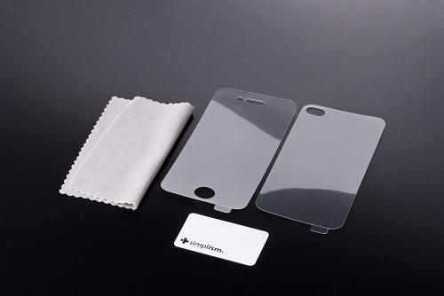 iPhone 4用保護フィルムセット(クリスタルクリア)