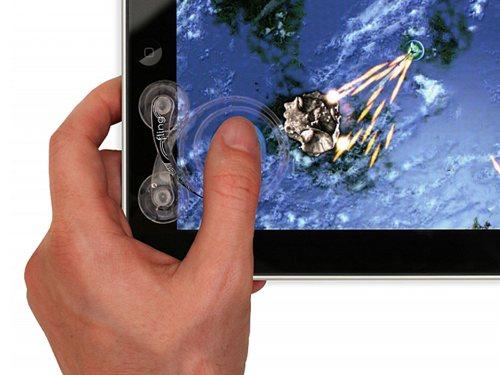 『iPad』用 アナログスティックコントローラー『Fling for iPad』